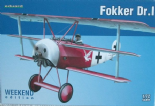 EDK7438 1/72 Fokker Dr.I Triplane Weekend Edition